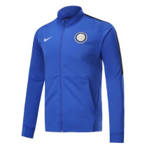 Inter Milan 17-18 New N98 Blue Color Jacket AAA Thai Quality top Coat