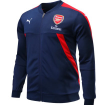 Arsenal 17-18 New N98 Dark Blue Color Jacket AAA Thai Quality top Coat
