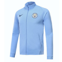 Manchester City 17-18 New N98 Blue 2 Color Jacket AAA Thai Quality top Coat