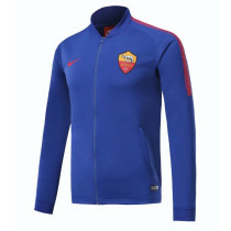 As Roma 17-18 New N98 Blue Color Jacket AAA Thai Quality top Coat