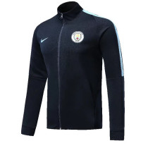 Manchester City 17-18 New N98 Black Color Jacket AAA Thai Quality top Coat