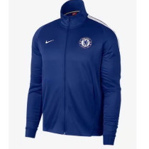 Chelsea 17-18 New N98 Blue Color Jacket AAA Thai Quality top Coat