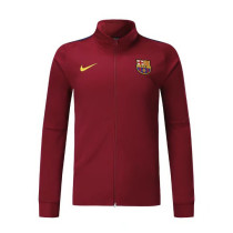 Barcelona 17-18 New N98 Wine Red Color Jacket AAA Thai Quality top Coat