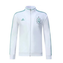 Real Madrid 17-18 New N98 White Color Jacket AAA Thai Quality top Coat