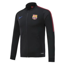 Barcelona 17-18 New N98 Black Color Jacket AAA Thai Quality top Coat