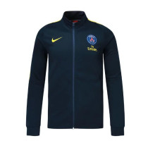 PSG 17-18 New N98 Dark Blue Color Jacket AAA Thai Quality top Coat