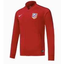 Atletico Madrid 17-18 New N98 Red Color Jacket AAA Thai Quality top Coat