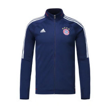 Bayern Munich 17-18 New N98 Dark Blue Color Jacket AAA Thai Quality top Coat
