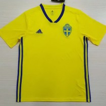 Sweden 2018 Home Soccer Jersey AAA Thailand Quality Discount Football Shirt wholesale online best thai quality shirts