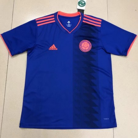 315392c6c45 Colombia 2018 Away Soccer Jersey AAA Thailand Quality Discount Football  Shirt wholesale online best thai quality shirts
