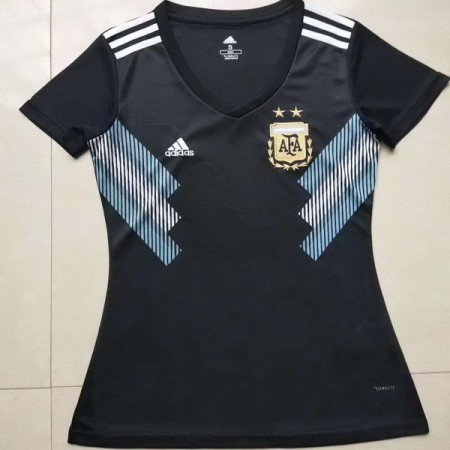 Argentina 2018 World Cup Away Women Soccer Jersey AAA Thailand Quality Discount Female Football Shirt wholesale online best thai quality shirts