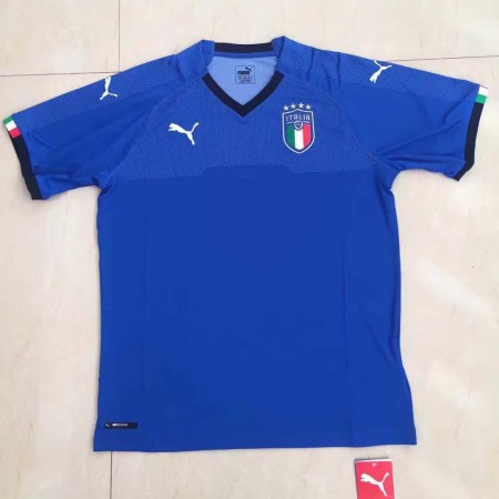 Italy 2018 World Cup Home Soccer Jersey AAA Thailand Quality Discount Football Shirt wholesale online best thai quality shirts