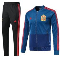 Spain 2018 World Cup Jacket With Pant Dark Blue Training Suit Full Set aaa thai quality cheap discount coat wholesale online free shipping
