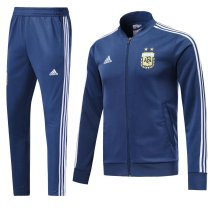 Argentina 2018 World Cup Jacket With Pant Dark Blue Training Suit Full Set aaa thai quality cheap discount coat wholesale online free shipping