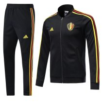 Belgium 2018 World Cup Jacket With Pant Black Training Suit Full Set aaa thai quality cheap discount coat wholesale online free shipping