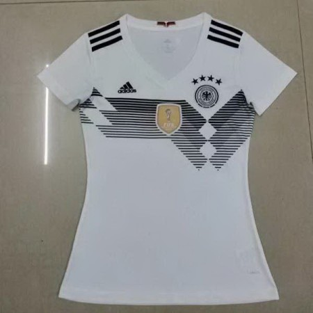 Germany 2018 World Cup Home Women Soccer Jersey AAA Thailand Quality Discount Female Football Shirt wholesale online best thai quality shirts