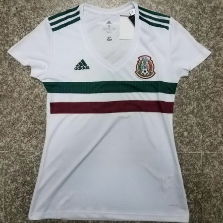 Mexico 2018 World Cup Away Women Soccer Jersey AAA Thailand Quality Discount Female Football Shirt wholesale online best thai quality shirts