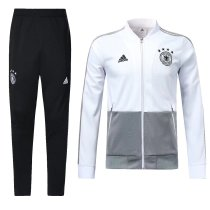 Germany 2018 World Cup Jacket With Pant Dark White Training Suit Full Set aaa thai quality cheap discount coat wholesale online free shipping