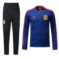Spain 2018 World Cup Jacket With Pant Navy Blue Training Suit Full Set aaa thai quality cheap discount coat wholesale online free shipping
