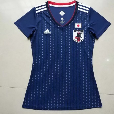 Japan 2018 World Cup Home Women Soccer Jersey AAA Thailand Quality Discount Female Football Shirt wholesale online best thai quality shirts