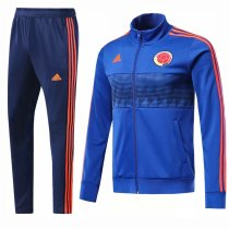 Colombia 2018 World Cup Jacket With Pant Blue Training Suit Full Set aaa thai quality cheap discount coat wholesale online free shipping