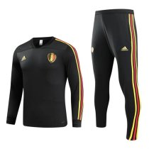 Belgium 2018 World Cup Tracksuit Black Coat With Pant Jacket aaa thai quality thai version best replica kits cheap discount sets