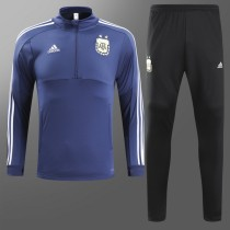 Argentina 2018 World Cup Tracksuit Blue Coat With Pant Jacket aaa thai quality thai version best replica kits cheap discount sets