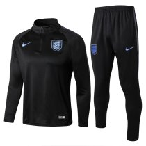 England 2018 World Cup Tracksuit Black Coat With Pant Jacket aaa thai quality thai version best replica kits cheap discount sets