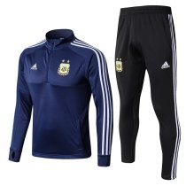 Argentina 2018 World Cup Tracksuit Blue2 Coat With Pant Jacket aaa thai quality thai version best replica kits cheap discount sets