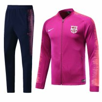 Barcelona 2018-2019 Pink Jacket With Pants Full Set Training Suit Tracksuit AAA Thai Quality Discount sports wear