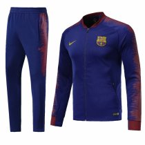 Barcelona 2018-2019 Blue Jacket With Pants Full Set Training Suit Tracksuit AAA Thai Quality Discount sports wear