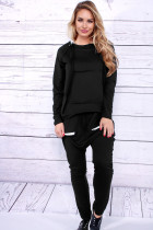 Casual Personality Long Sleeve Winter Sport Jumpsuit / Siamese Trousers
