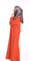 Middle East Women Robe Muslim Women Dress Abaya Burqa Nose Piece Niqab