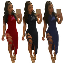 women fashion midi dressed lady dress 3 color