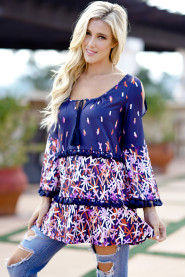 Vintage Print A Line Dresses Summer Plus Size Long Sleeve Loose A Line Dress Casual O Neck Vestidos de festa