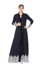 Long Shirt Dress Women Muslim Dress