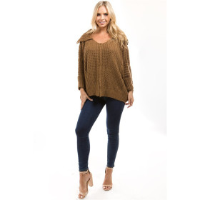 New Sweater Women Pullover Knitted Long Sleeve Knitting Winter Sweaters Top Female Batwing Cashmere Casual Pullovers Jumper Pull