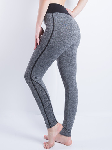 Quick-drying Elastic Waist Women Slim Skinny Leggings Fitness Yoga Pants