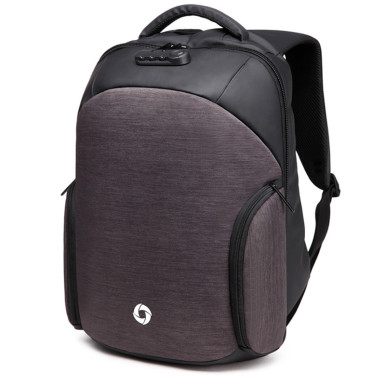 OneBling Men Backpack Multifunctional Cipher Lock Anti-theft Laptop Backpack Waterproof Bags