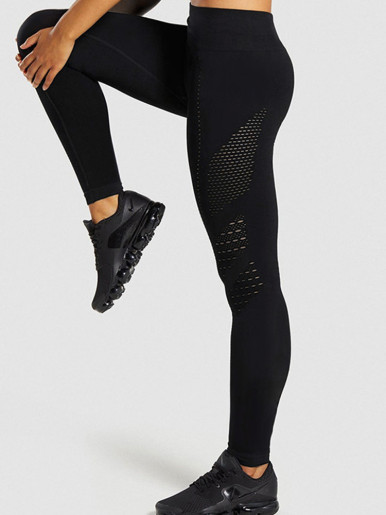 OneBling Laser Cut High Waist Legging