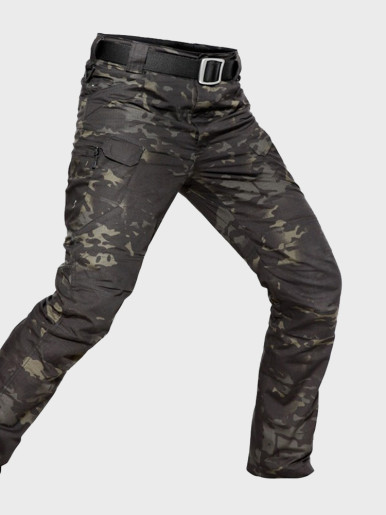 Tactical Camouflage Military Casual Combat Cargo Pants