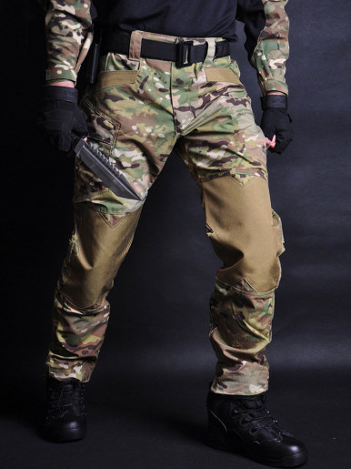 Men Jogger Tactical Pants Camouflage Military Cargo Sweatpants