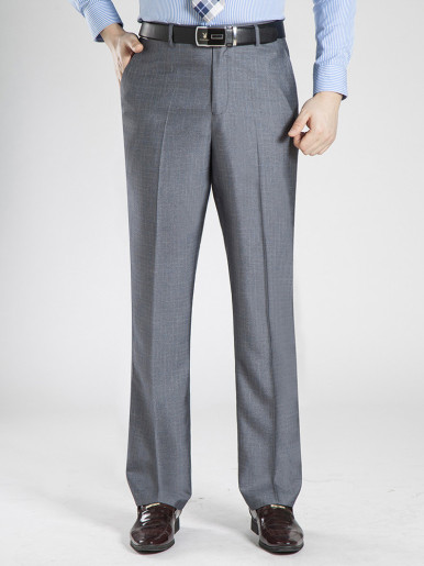 Casual Long Suit Pants For Male Straight