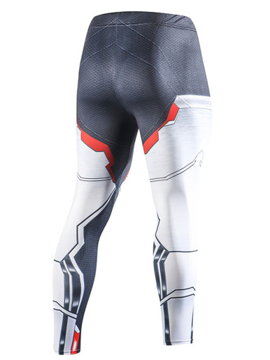 Compression Running Tights Men Training Pants Fitness