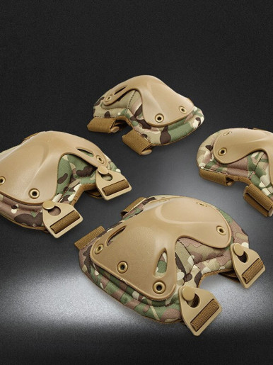 Military equipment Rollers skates and protection