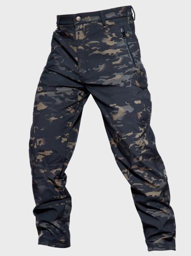 Tactical Camouflage Pants Men Combat Waterproof Military Cargo
