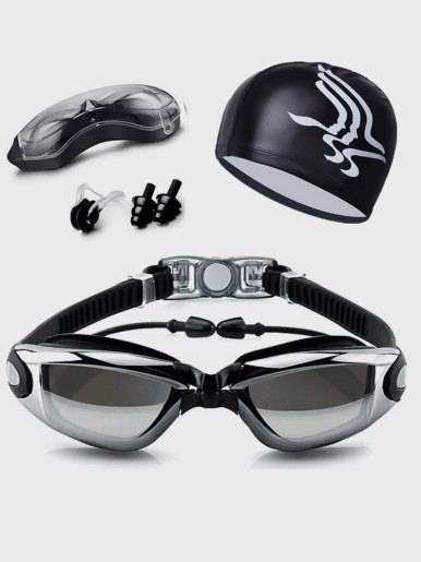 Swimming Goggles HD Anti-Fog Swim Glasses