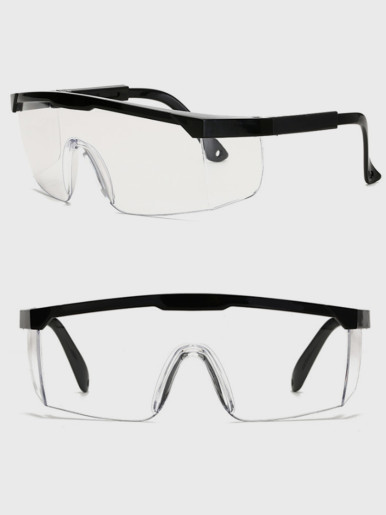 Clear Polycarbonate Standard Safety Glasses