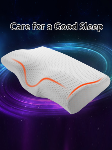 Butterfly Shaped Pillow Health Cervical Neck Slow Rebound Memory Foam Bedding Pillow