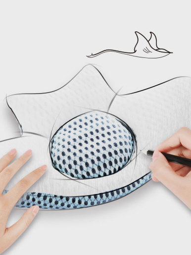Cotton Buckwheat Lumbar Support Sleep Pillow